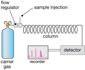 Chromatography Gas Chromatography Schematic Diagram on
