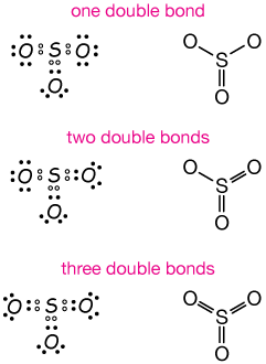formal charge results are consistent with that structure, too  here are the lewis  structure possibilities: